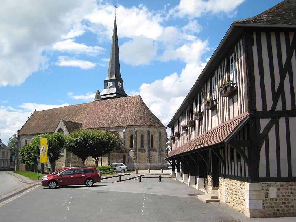 L'église d'Harcourt