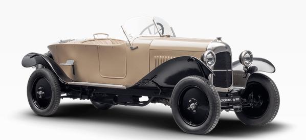 1922 Citroën B2 Caddy