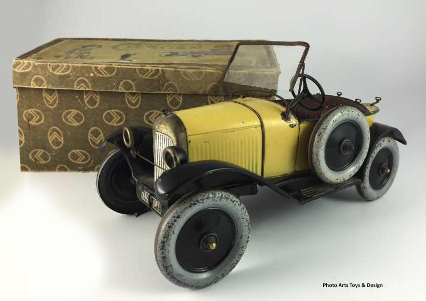 1923 jouet citroen arts toys 1
