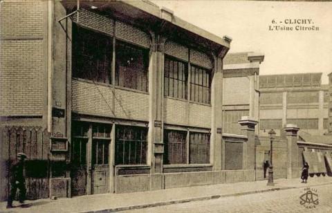 1925 fonderie Citroën clichy