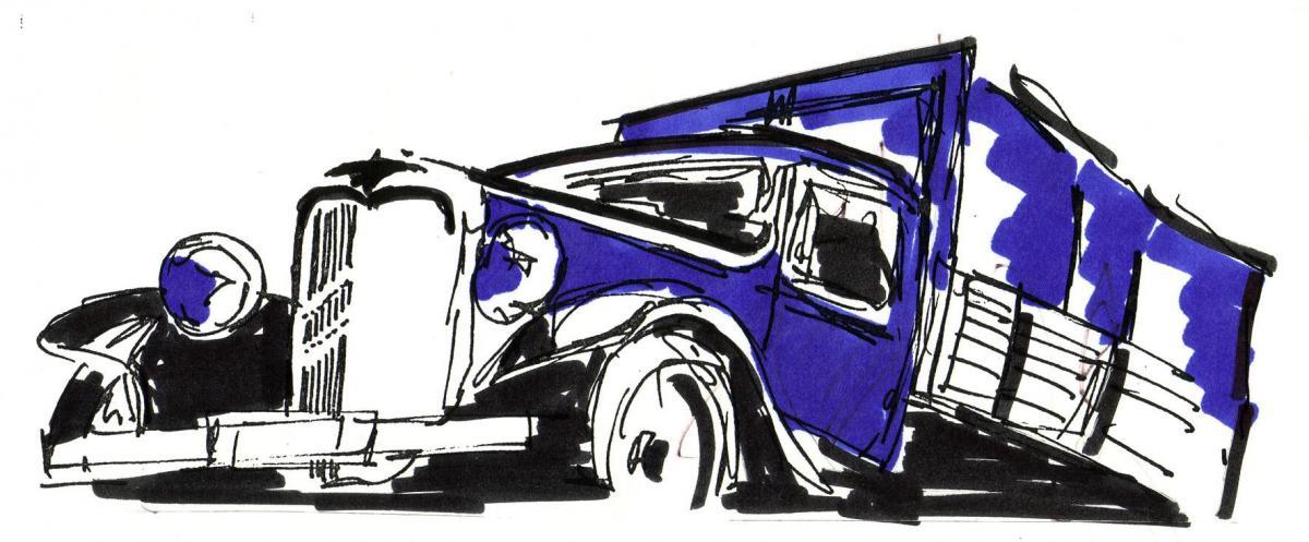 1937 citroen 850kg diesel