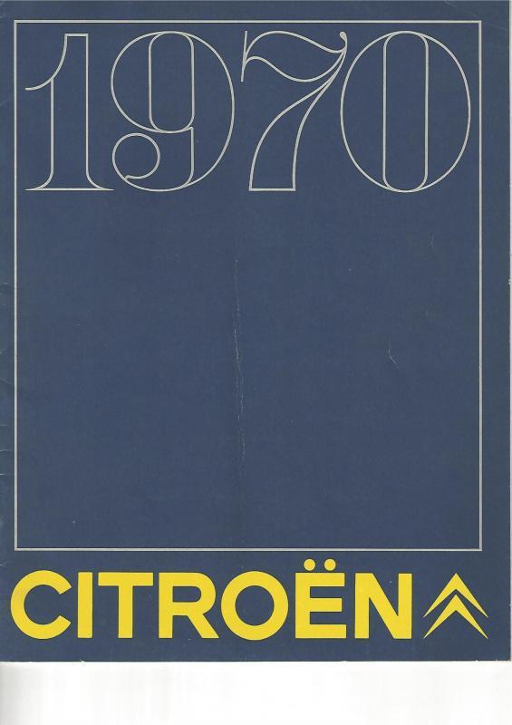 1970 gamme citroen couv