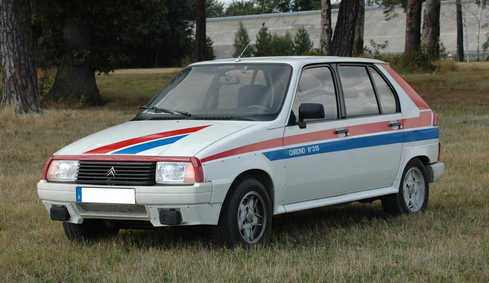 1982 Citroën VISA II Chrono