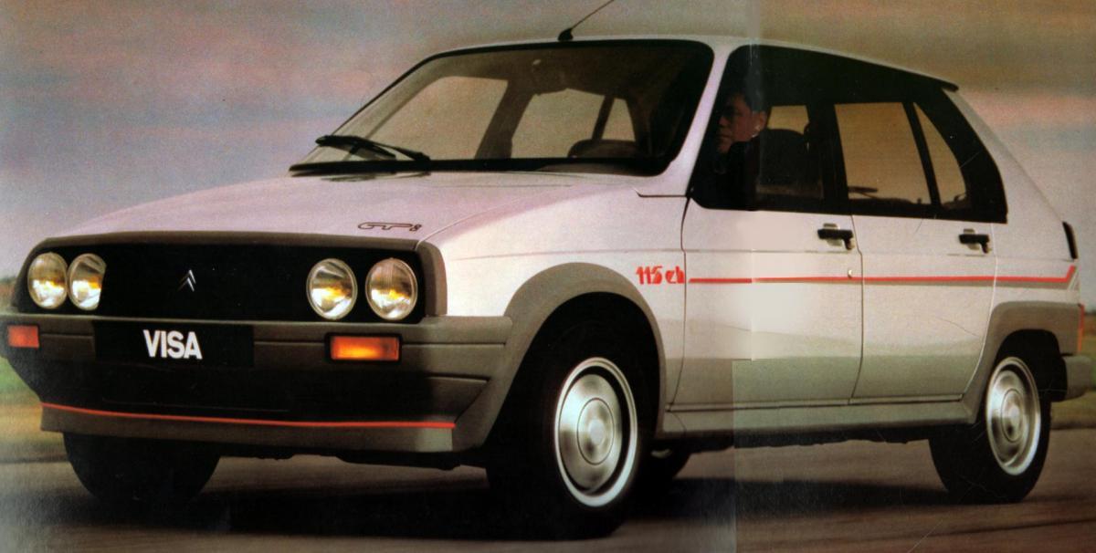 1986 VISA GTi 115 ch
