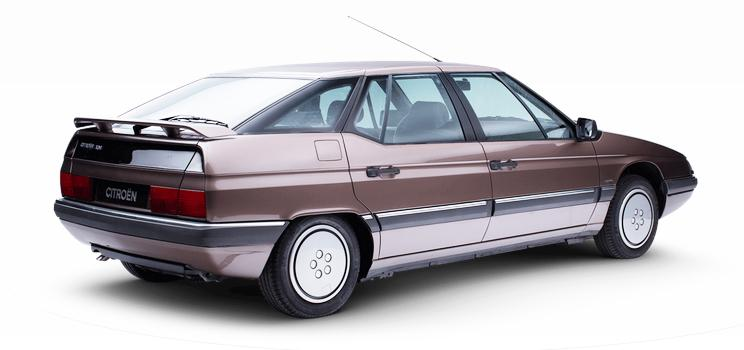 1989 Lancement Citroën XM