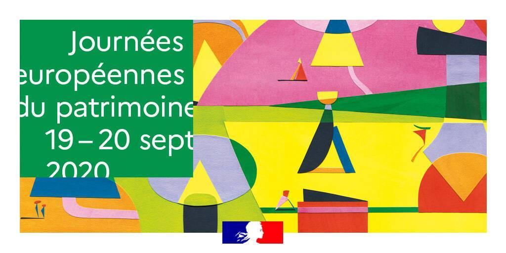 Affiche journee europeene patrimoine 2020