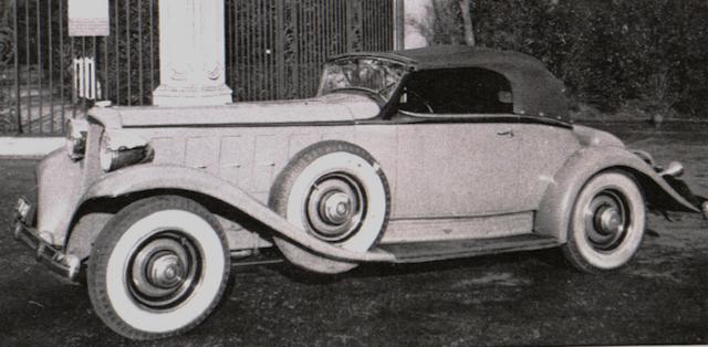 Cabriolet roadster 15cv 1
