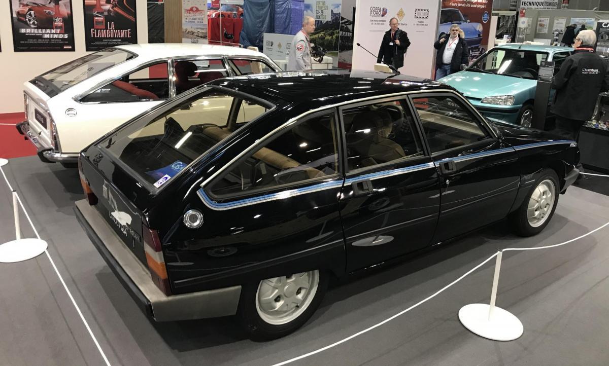 Citroën Gsa Tuner 1982 vue arrière