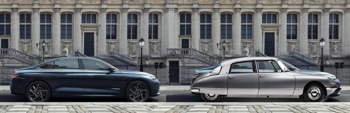 Citroën Ds 1955 et DS9