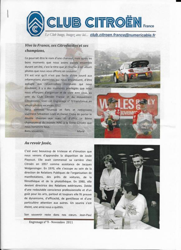 Engrenage n 9 novembre 2011