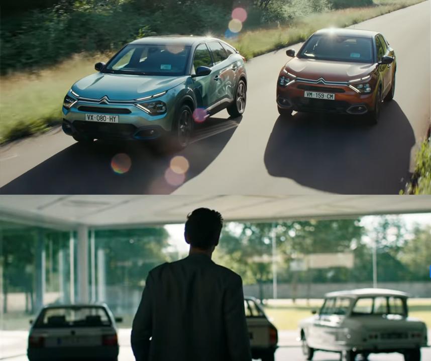 Illustration vidéo Citroën C4 tournée à La Ferté-Vidame