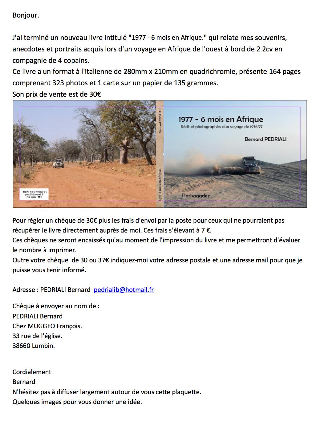 Plaquete 6 mois en afrique 9 p 1