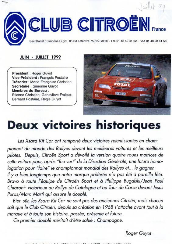 Revue ccf n 42 d juillet 99