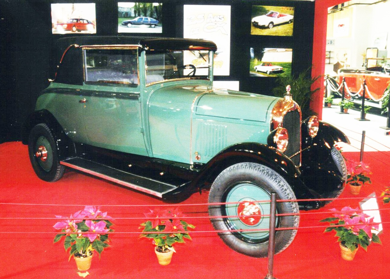 1927 B14 cabriolet 2 places