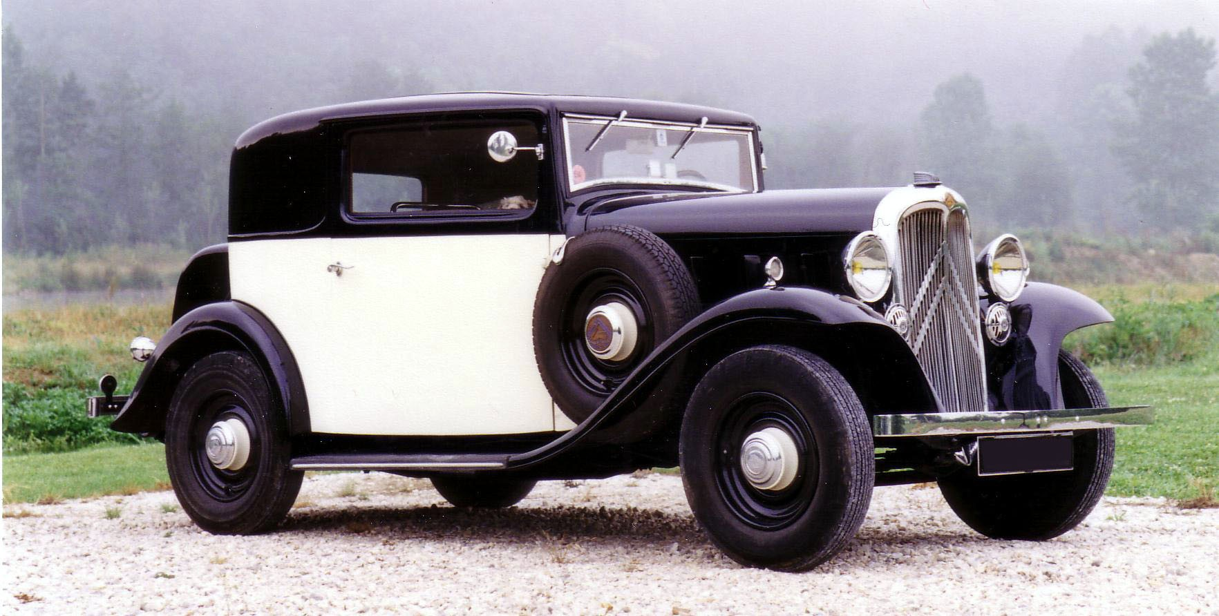 1933 Citroën Rosalie Coach Sical
