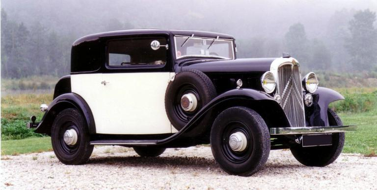 1933 Citroën Rosalie Coach Sical