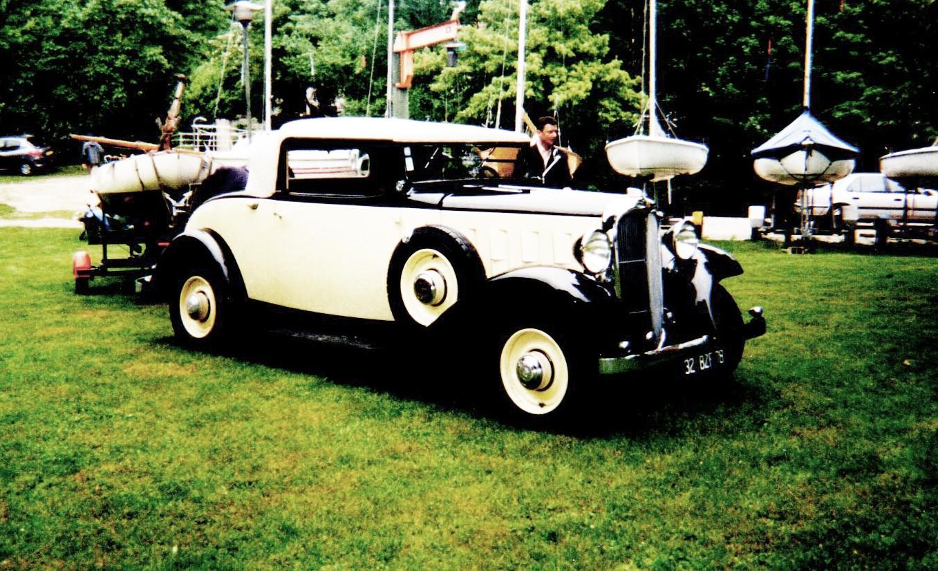 1933 Citroën Rosalie 15 cabriolet