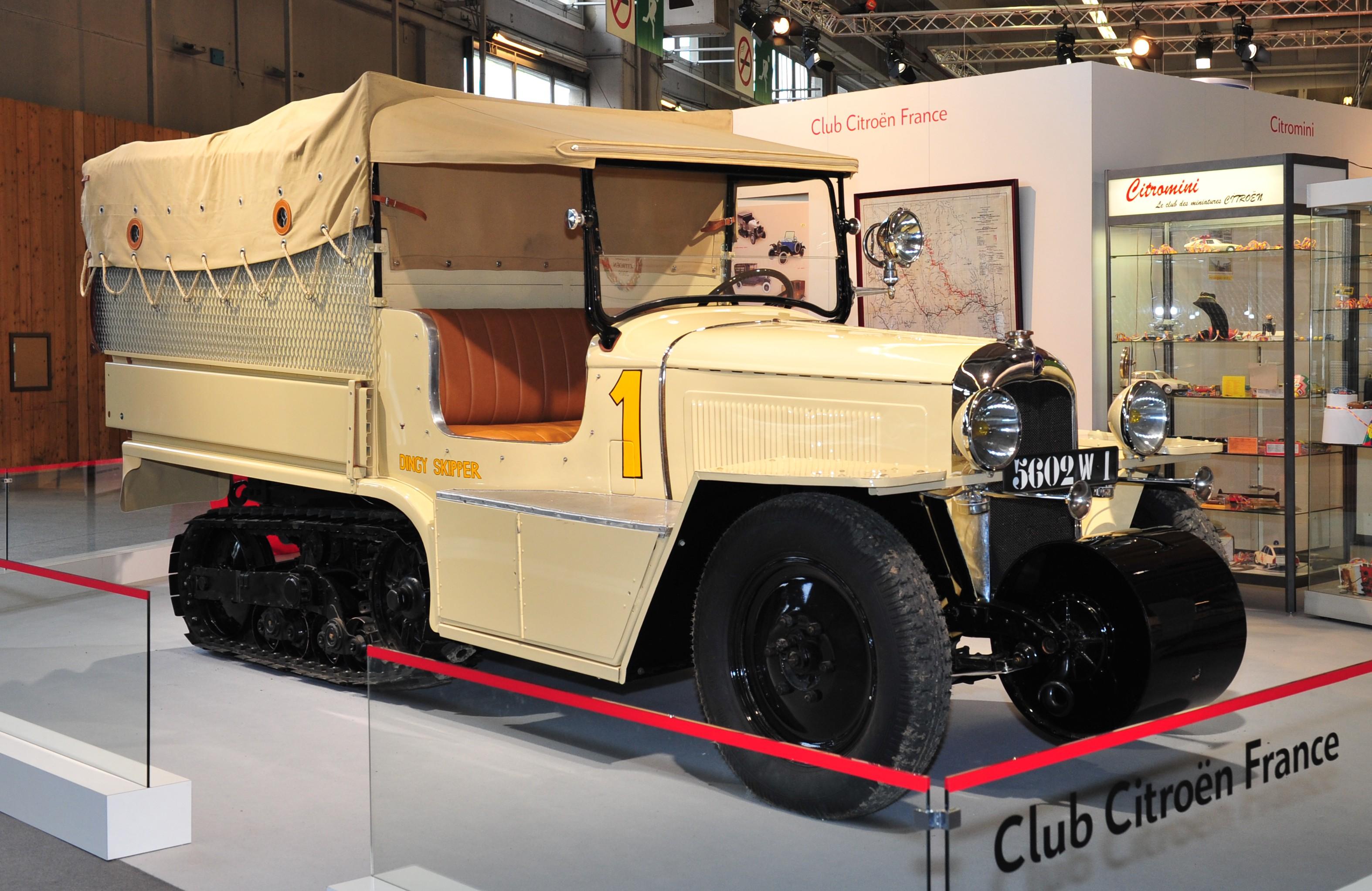 1934 Autochenille Citroën P17