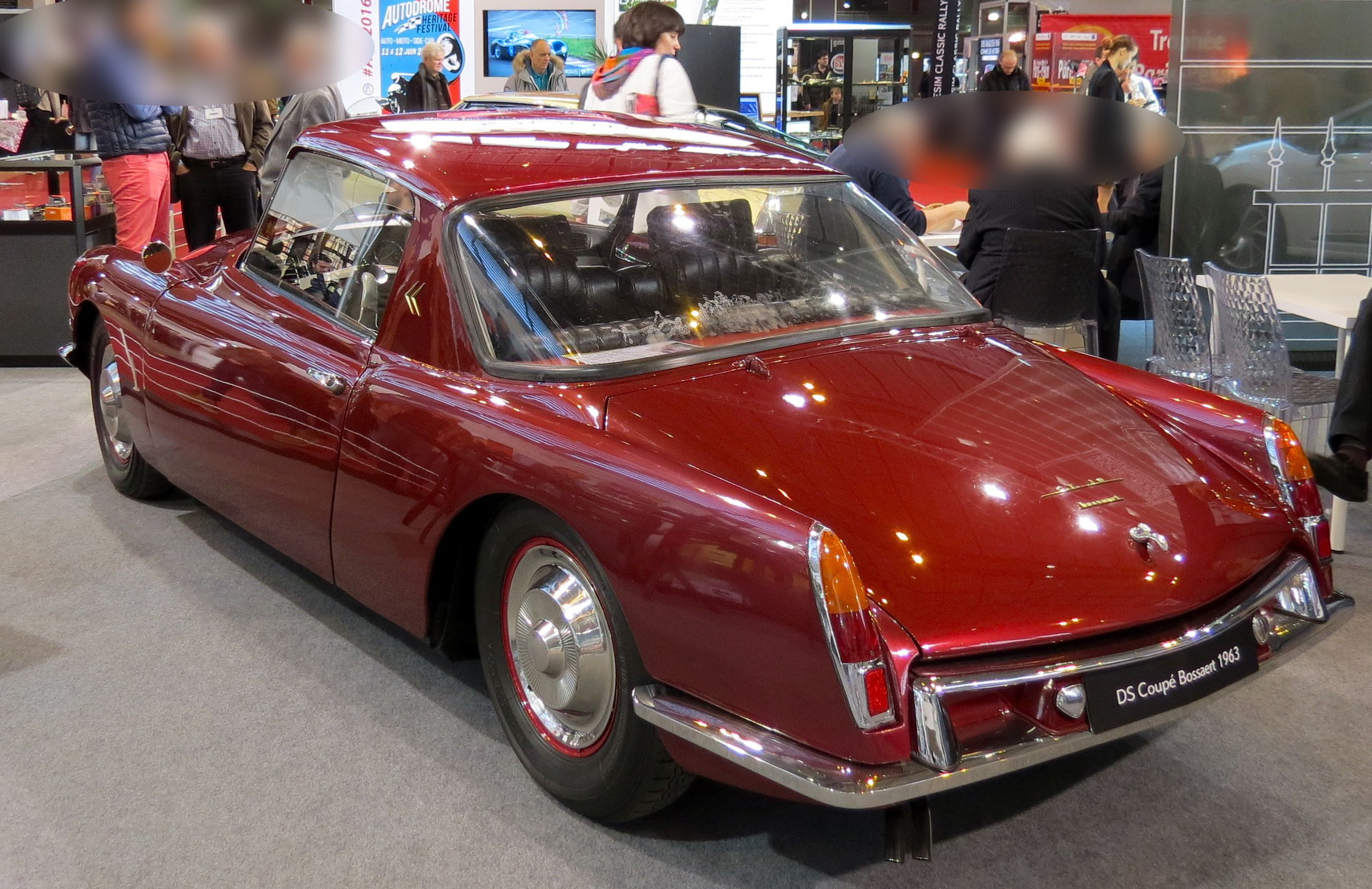1963 DS coupé Bossaert