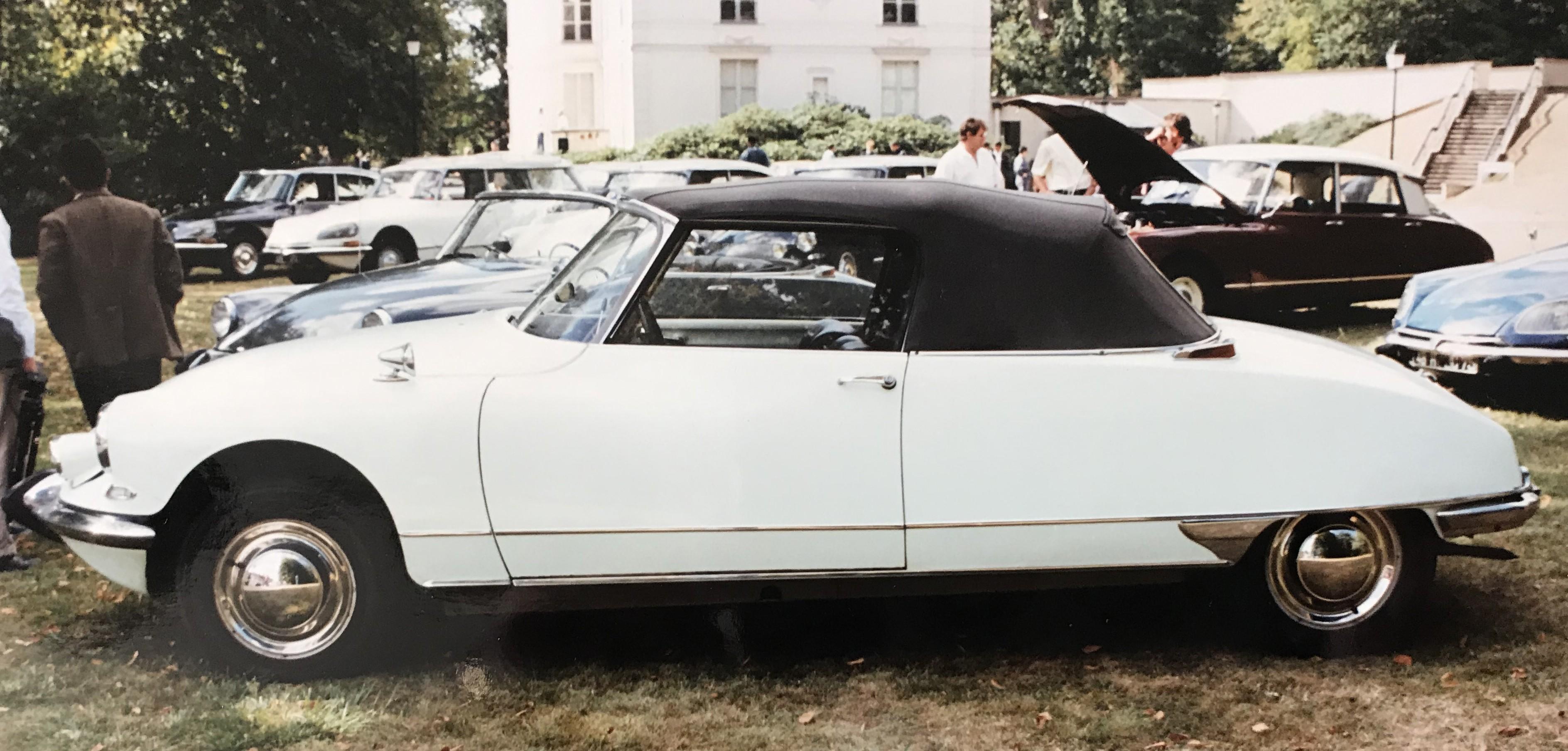 1964 DS19 cabriolet usine