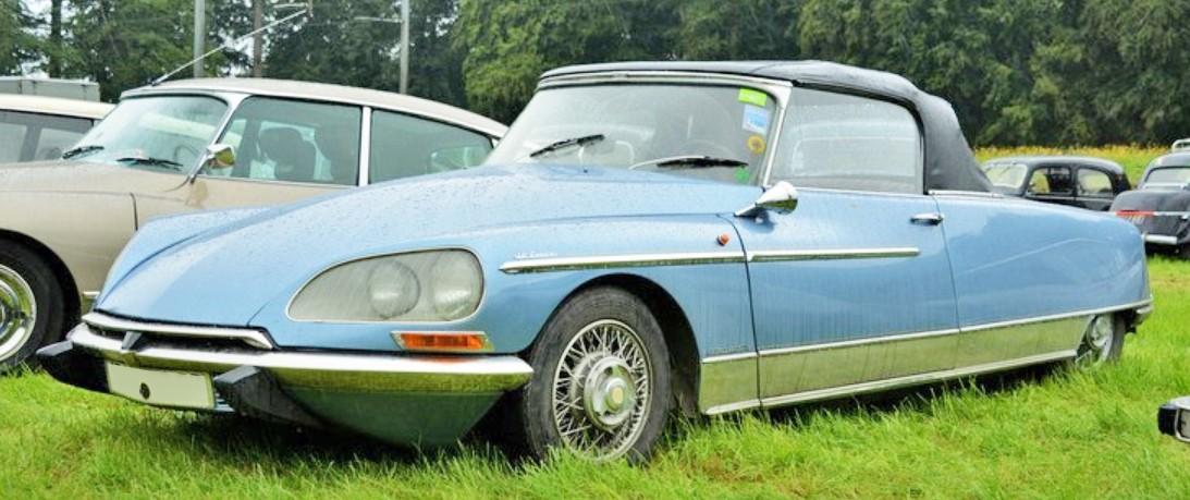 1967 DS21 Le Caddy  Chapron Nouvel avant