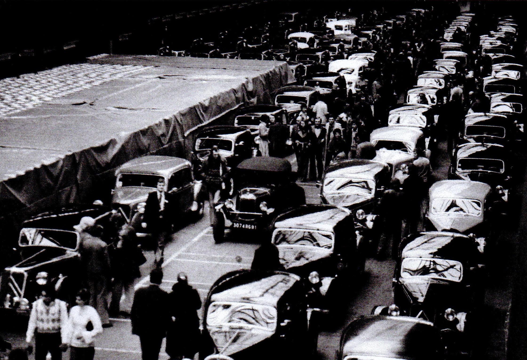 27 mars 1976 - 150 voitures pour l'adieu à Javel