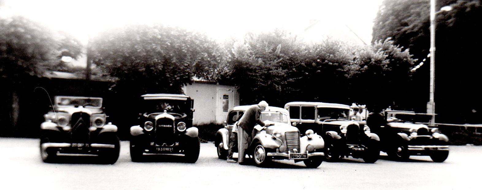 1982 En route vers l'Eure Chez Marie et Etienne