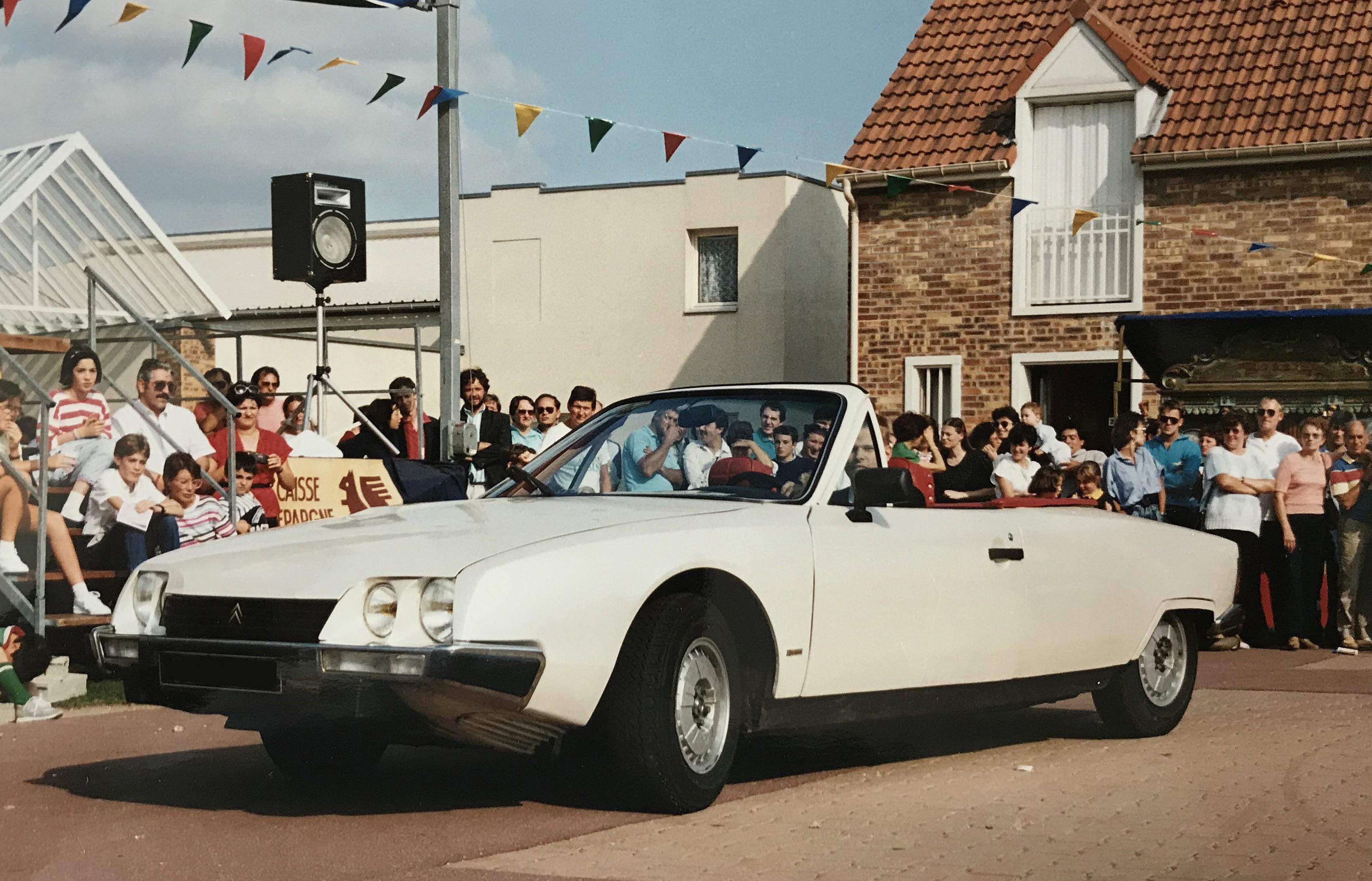 1984 CX cabriolet Deslandes Orphée