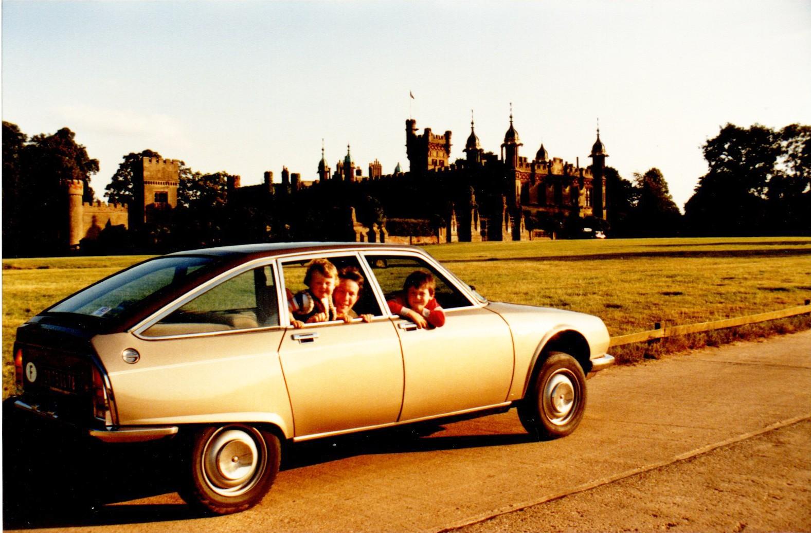 1984 En GS Birotor au 4ème ICCCR à knebworth