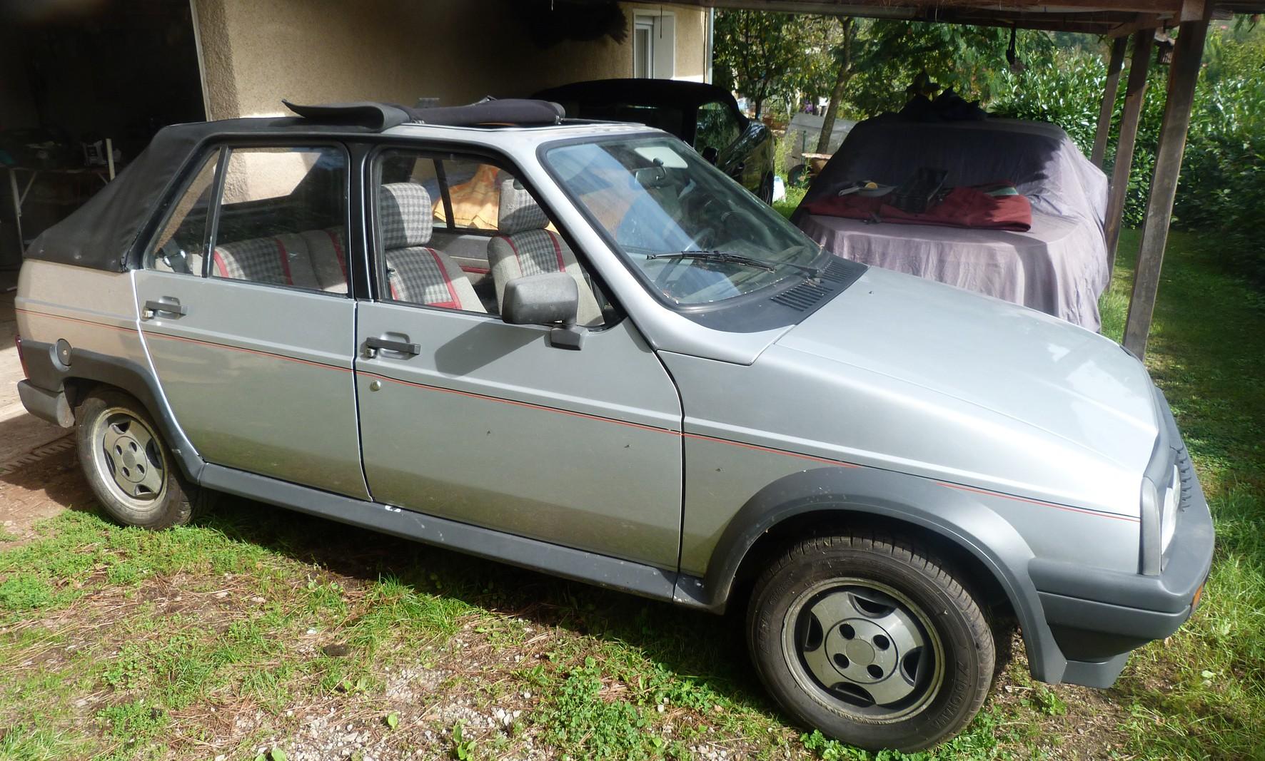 1985 VISA GTi Découvrable