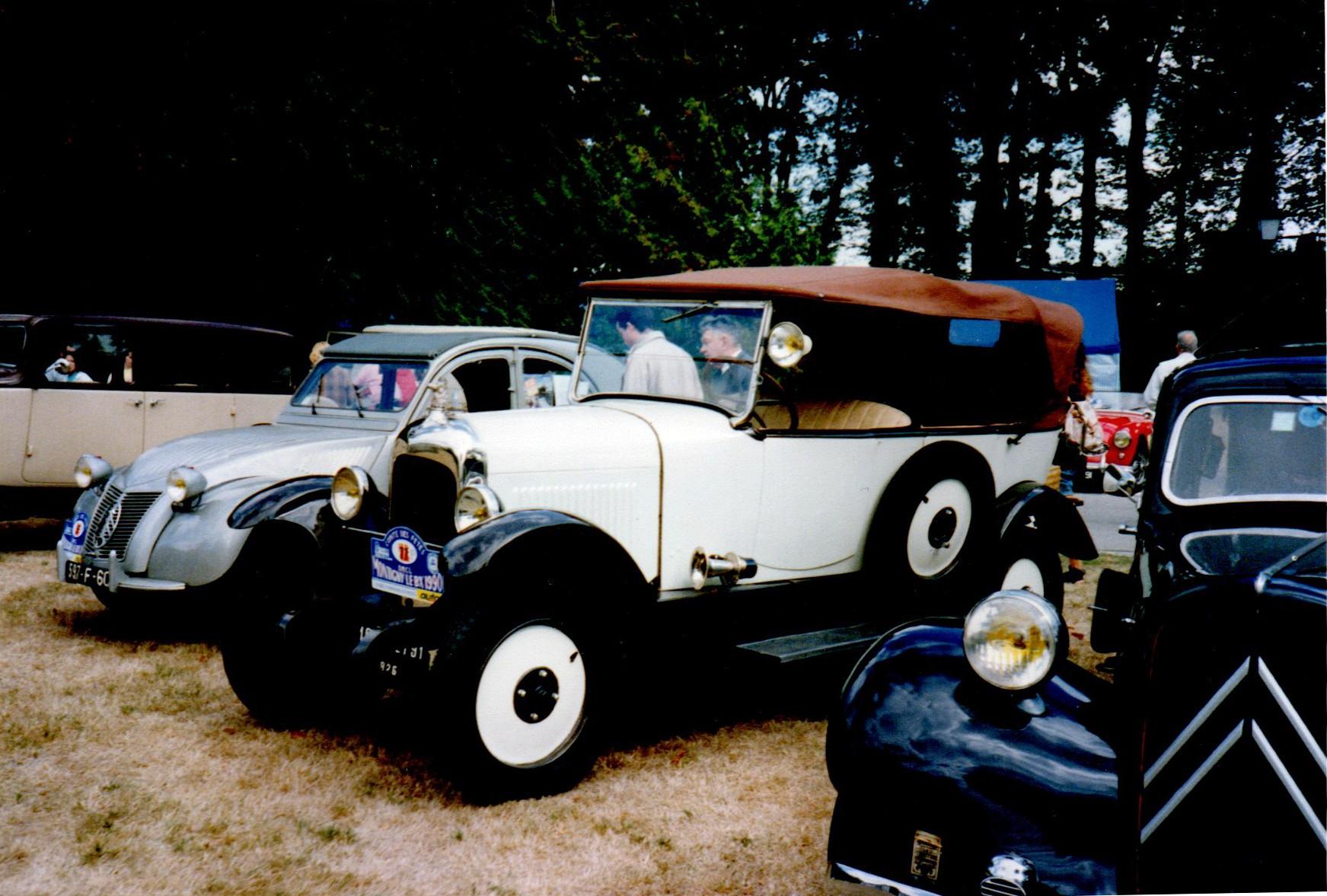 1987 La fête de l'Auto à Montigny le Bretonneux