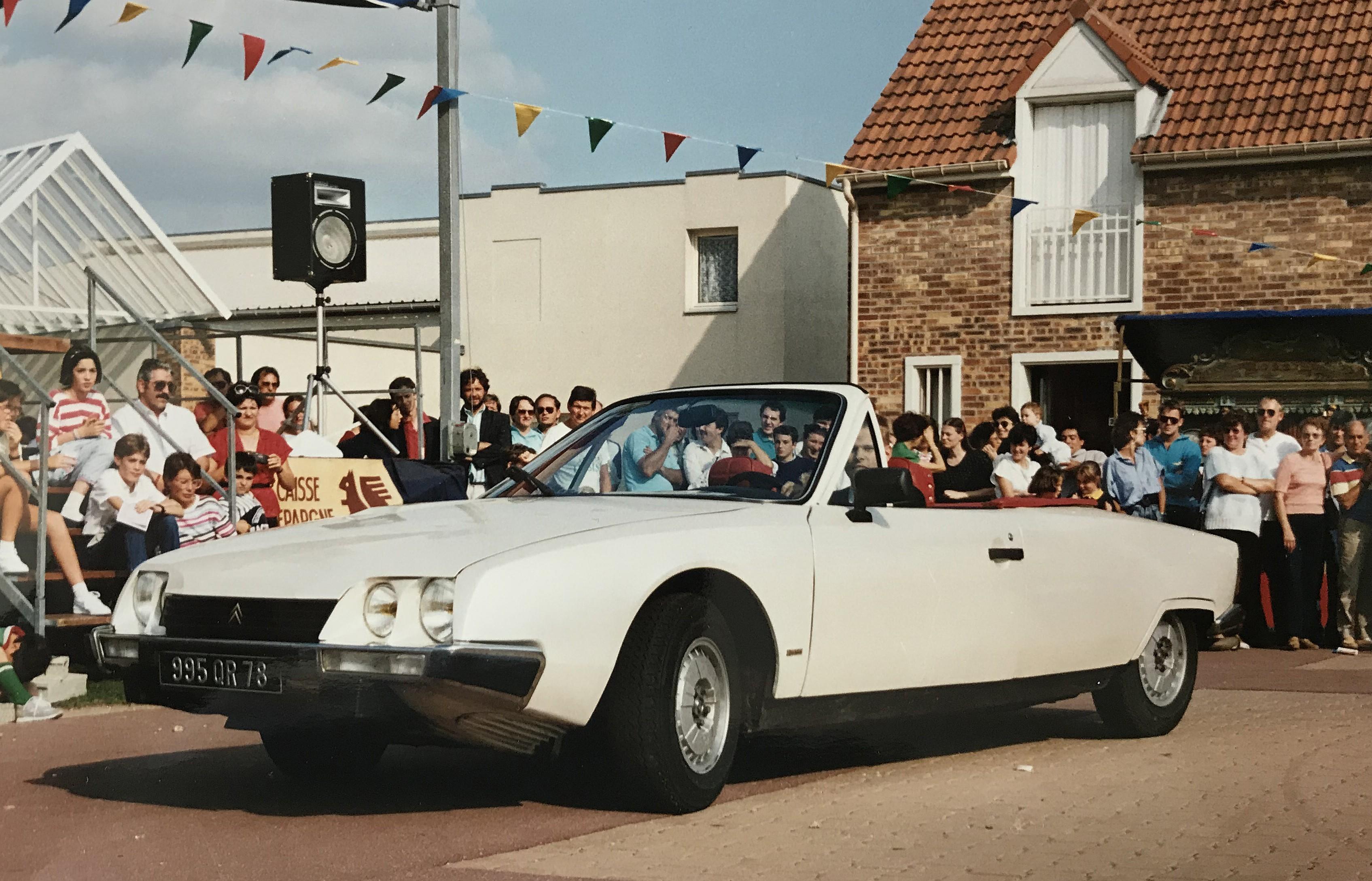 1989 La CX Deslandes à la Fête de l'Auto Montigny le Bretonneux