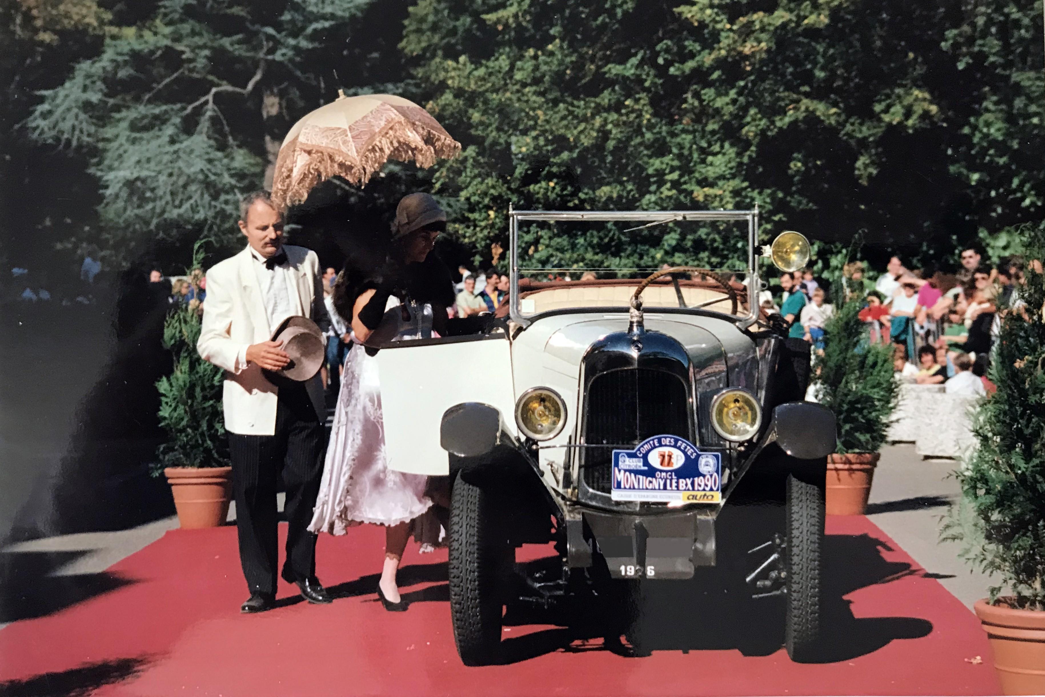 1990 La Fête de l'Auto à Montigny le Bretonneux