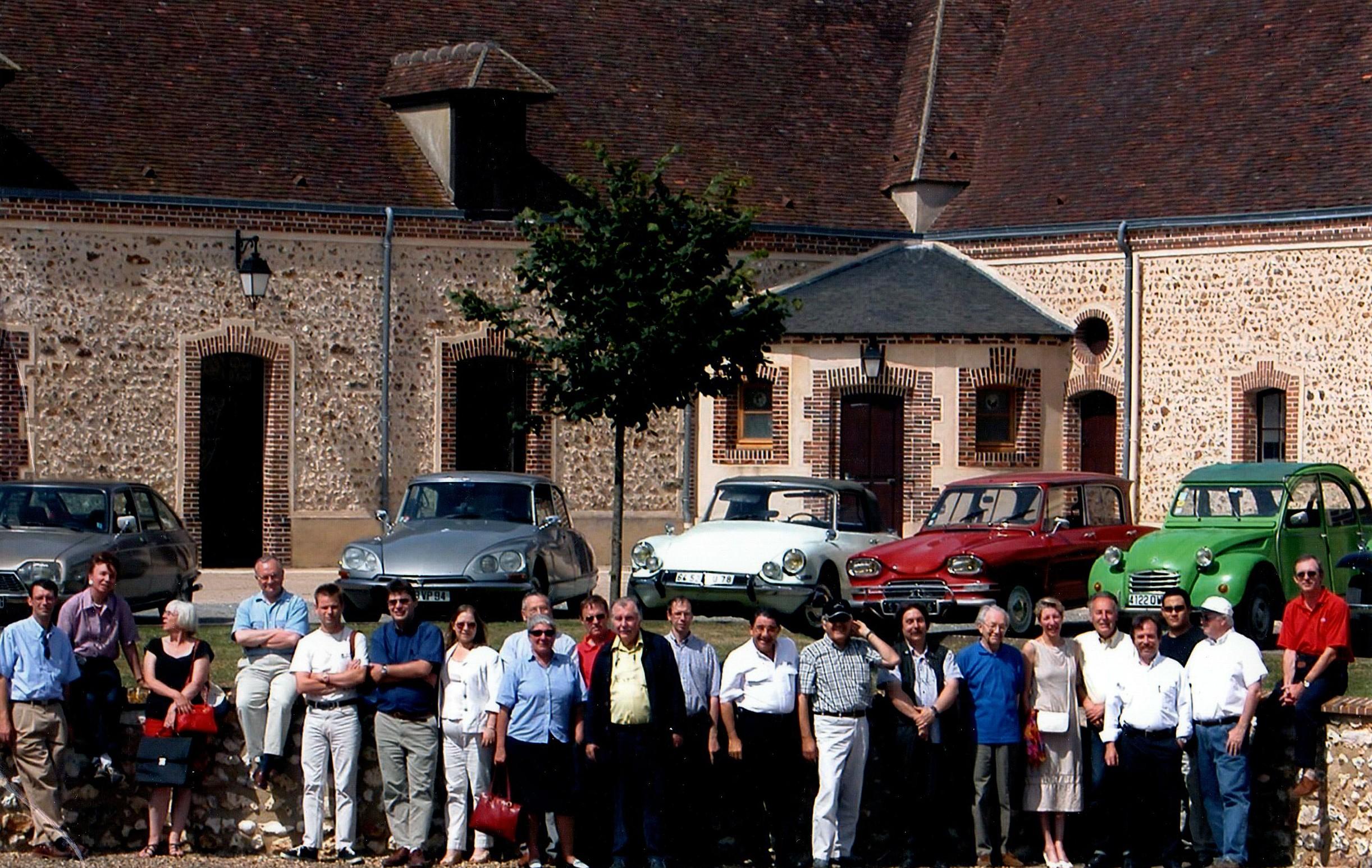 1994 La ferme de la Richardière à La Ferté-Vidame