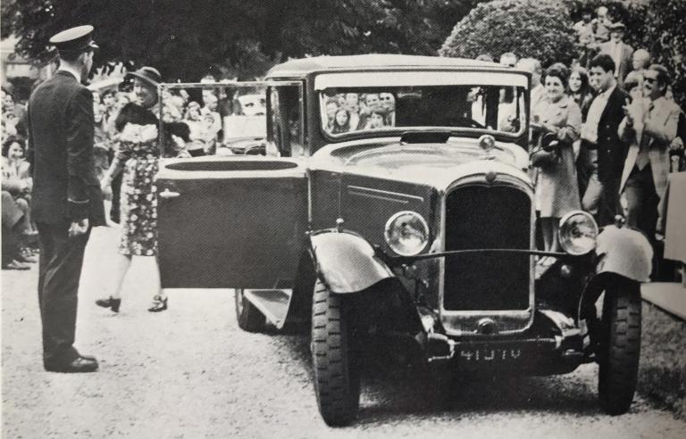 7 juillet 1974 Concours d'élégance à Forges-les-Eaux