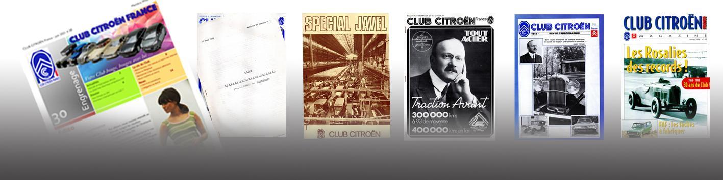 Les revues du CLUB CITROËN FRANCE