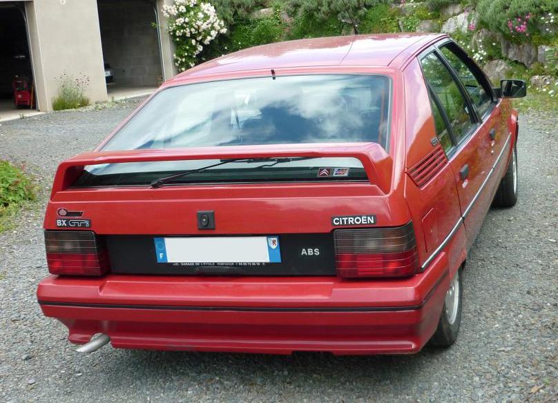 1992 Citroën BX GTi BVA
