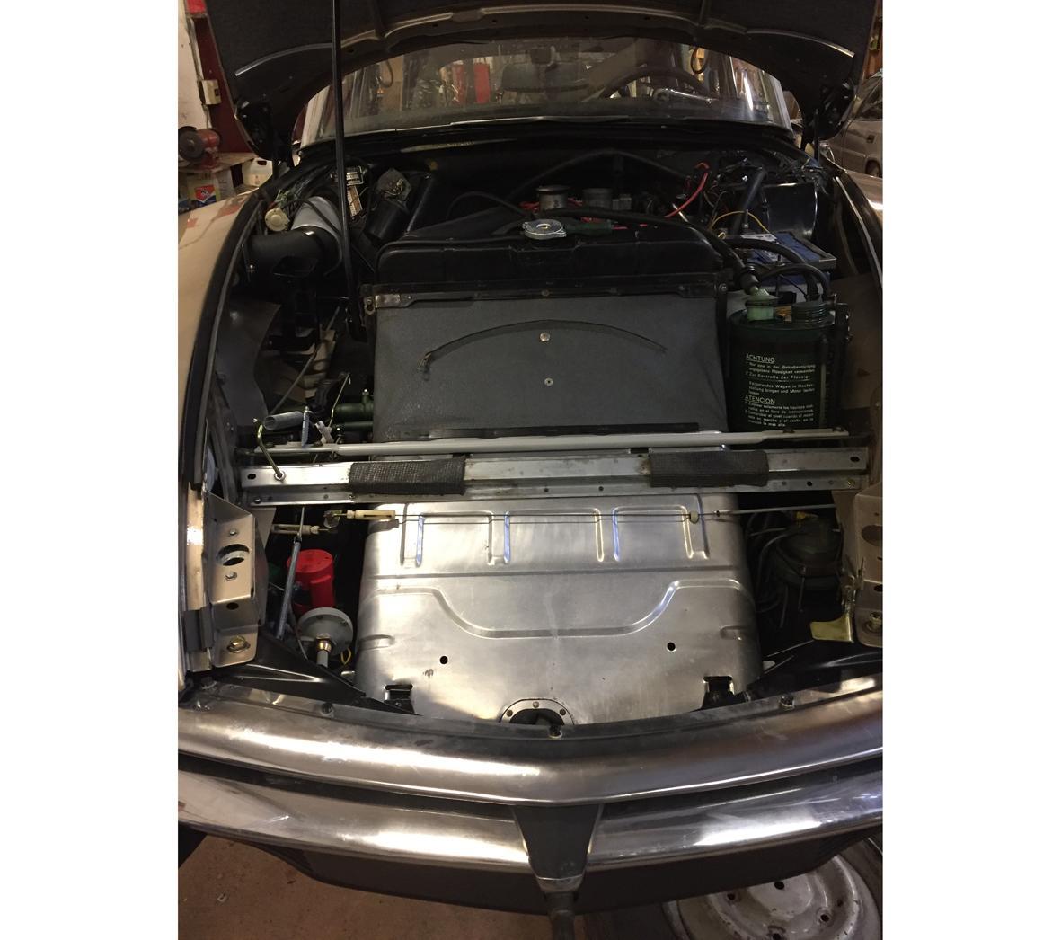 DS20 Compartiment moteur