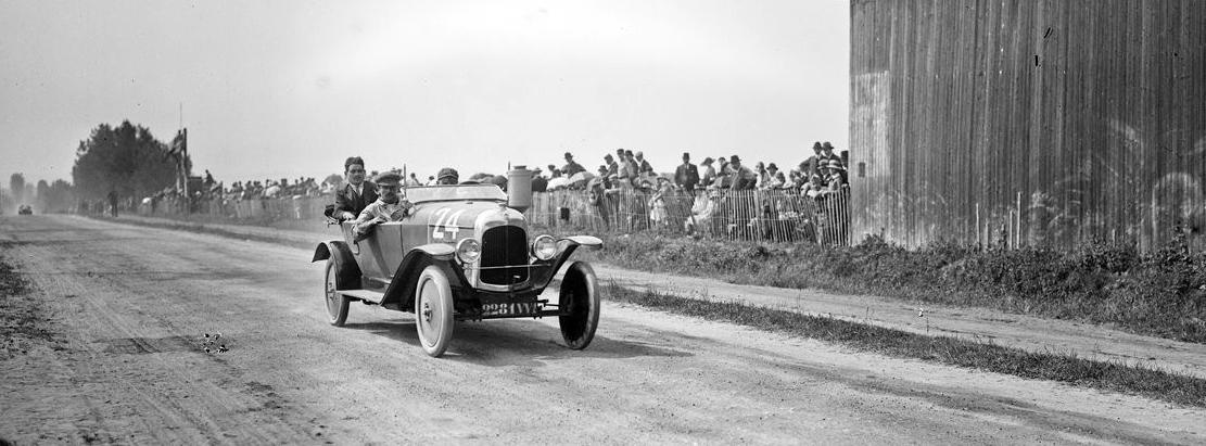1921 Milcent sur Citroën Grand prix de la consommation au Mans roll 66288