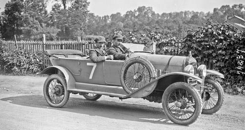1922 poulain sur citroen 10hp 2