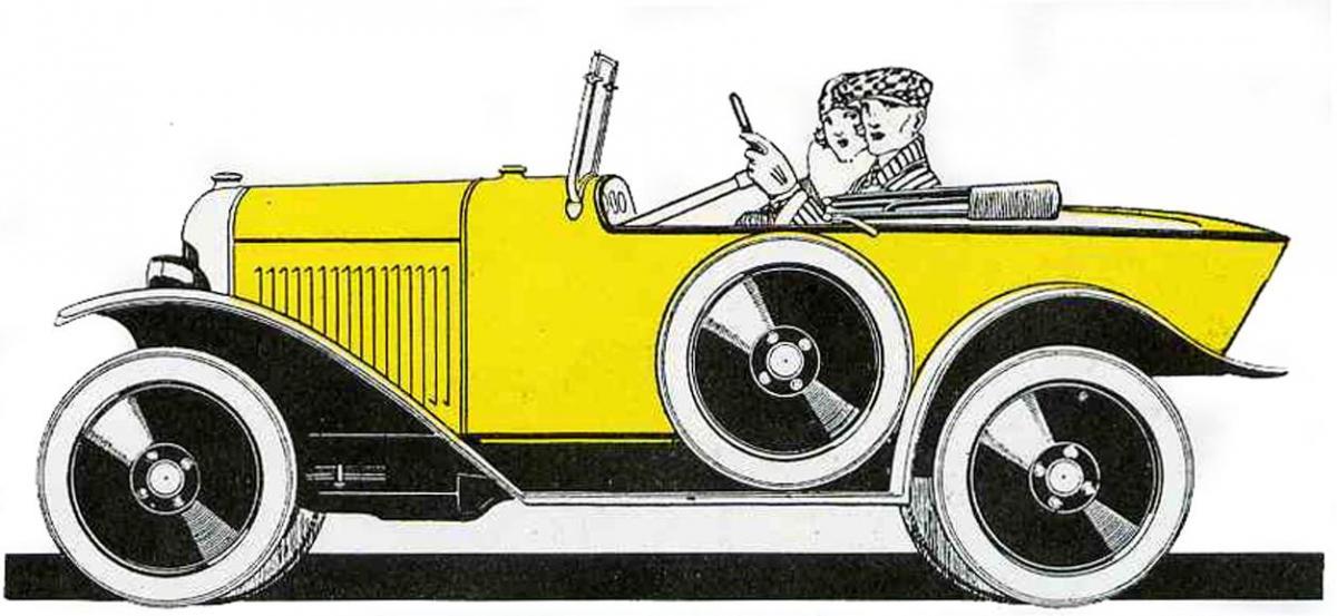 1922 Citroën 5HP