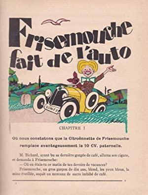 1926 Frisemouche fait de l'auto 2