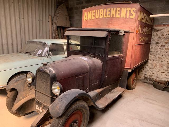 1927 CITROËN B14F fourgonnette