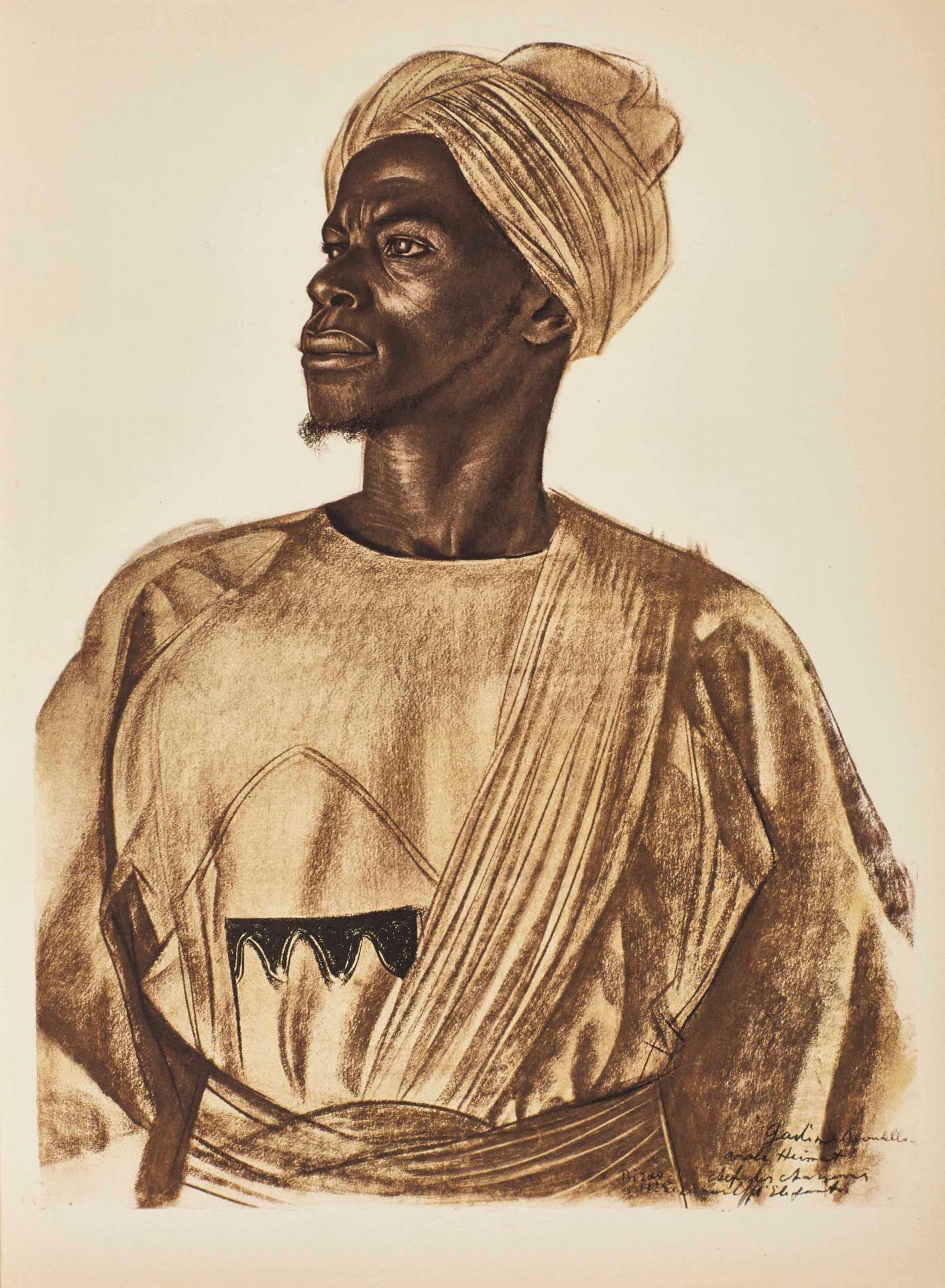 1927 Dessins d'Afrique d'Alexandre Iacovleff