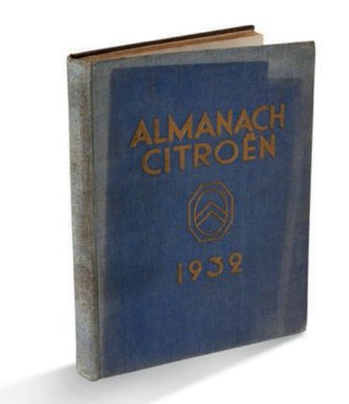 1932 Almanach Citroën