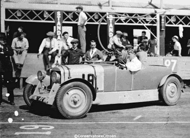 1932 citroen c4 le mans
