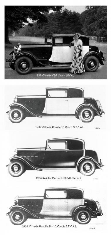 1932 - 1933 Citroën Rosalie SICAL