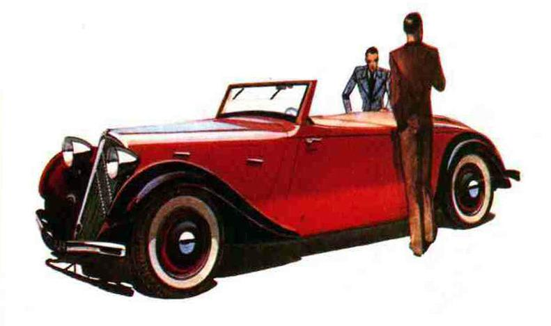 1934 Citroën Traction cabriolet
