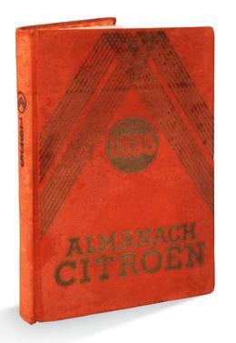 1935 Almanach Citroën