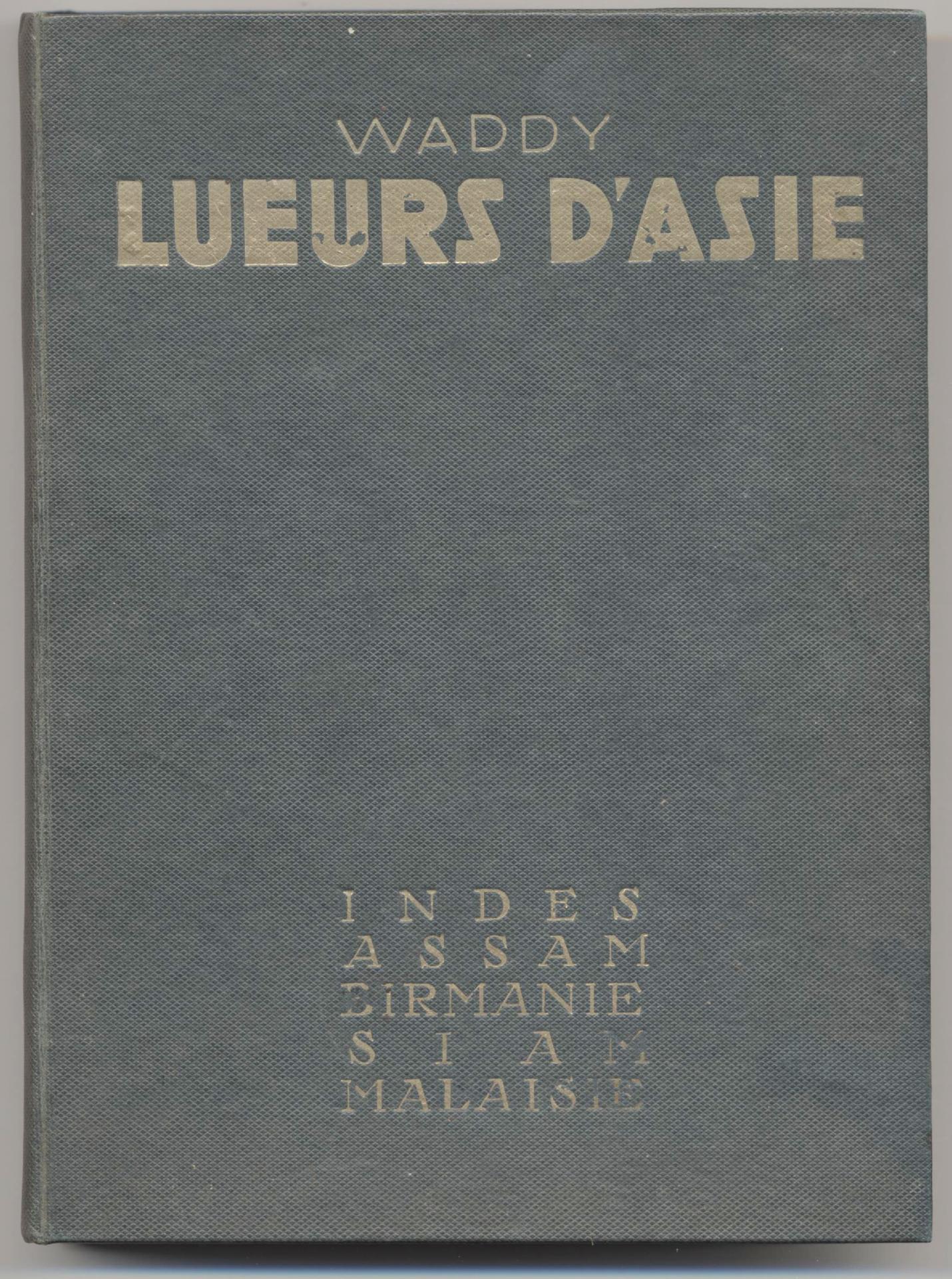 1935 Lueurs d'Asie